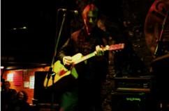 Filthy Pedro at the Blang night, April 2004.