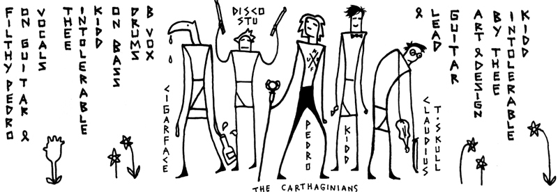 Filthy Pedro & the Carthaginians